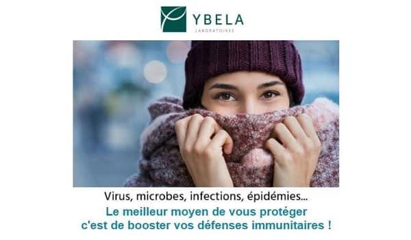 10€ De Remise Pour Renforcer Vos Défenses Naturelles Avec Les Compléments Ybela Laboratoires