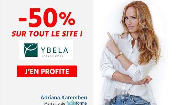 50% De Reduction Sur Tous Les Produits Ybela Laboratoires (compléments Alimentaires )
