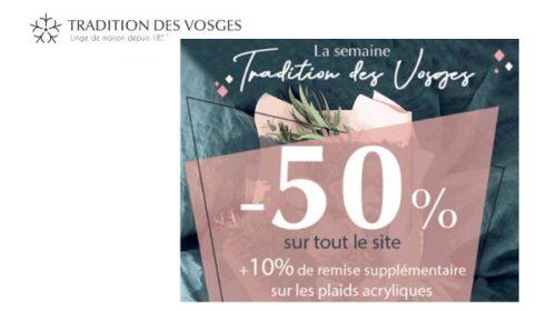 50% De Remise Sur Tout Le Site Tradition Des Vosges