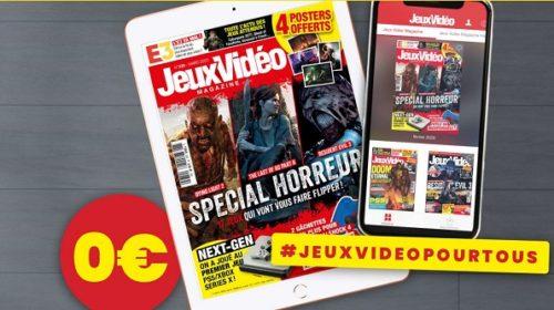 Abonnement 3 Mois Gratuit Au Magazine Jeux Vidéo Magazine