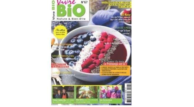 📢Abonnement Vivre Bio pas cher 15€ au lieu de 48€ (10 numéros + édition numérique offerte)