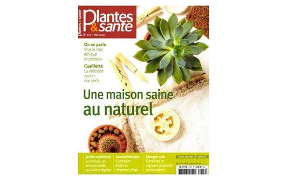 Abonnement magazine Plantes & Santé pas cher 22,5€ l'année (11 n°) au lieu de 53,9€