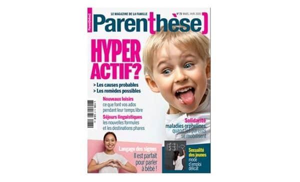 Accès Libre Et Gratuit à La Version Numérique De Tous Les Magazines Parenthèse
