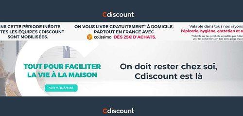 Bon Plan Courses En Ligne Livraison Domicile Gratuite Dès 25€ Sur Cdiscount