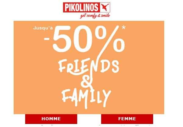 friends & family pikolinos