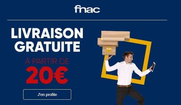 Livraison à Domicile Offerte Sur Toutes Les Commandes Fnac Dès 20€