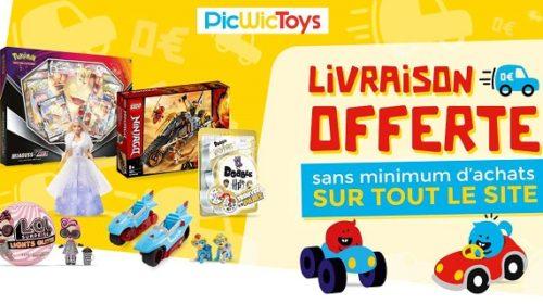 Livraison Offerte Sur Tous Les Achats Sur Picwictoys Sans Minimum