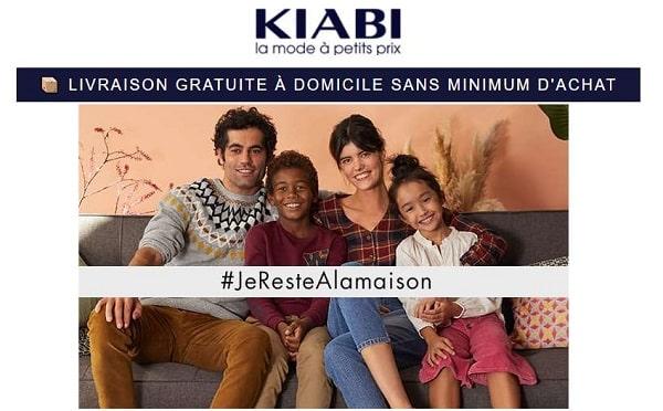 Promotions Et Livraison Gratuite Domicile Sans Minimum Sur Kiabi