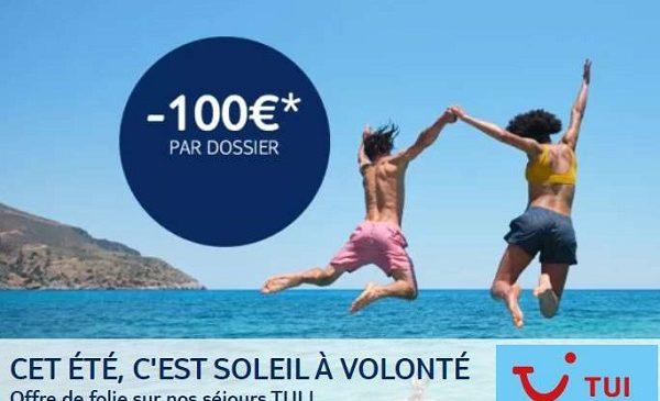 Réduction De 100€ Par Dossier Sur Les Séjours Tui
