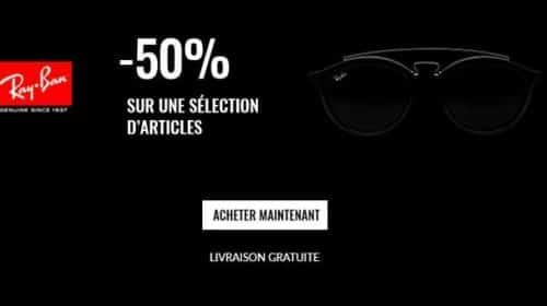 Remises De 50% Sur Une Sélection De Paires De Ray Ban Et Livraison Gratuite
