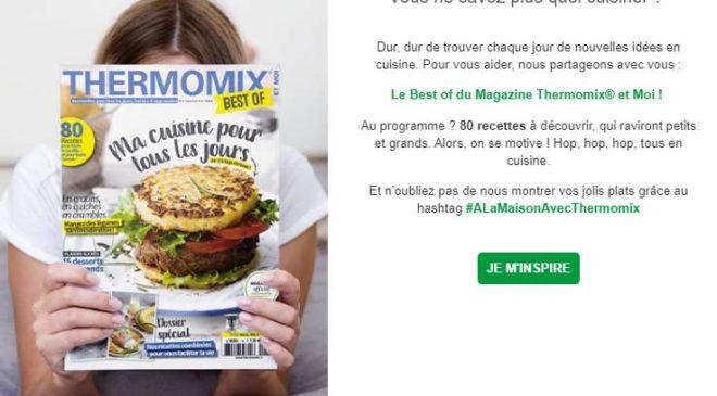Téléchargez Gratuitement Le Best Of Du Magazine Thermomix Et Moi