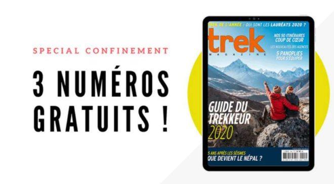 Téléchargez Gratuitement Les Trois Derniers Numéros De Trek Magazine Sur Smartphone Tablette