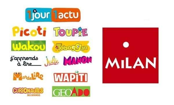Tous Les Derniers Numéros Des Magazines Pour Enfants De Milan Jeunesse En Lecture Gratuite