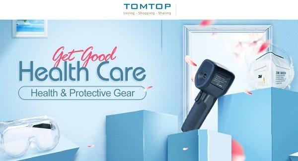 Vente Flash Masques, Gels Et Liquides Désinfectants Et Autres Articles De Protections Sur Tomtop