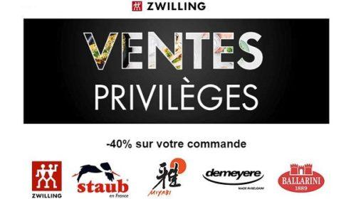 Vente Privée Zwilling 40% De Remise Sur Tout Le Site