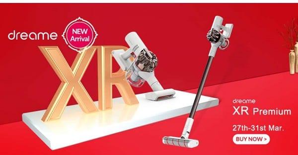 Aspirateur Sans Fil Ultra Puissant 2 En 1 Dreame Xr Premium