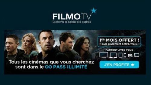 Pass Vod Filmotv Illimité 1 Mois Offert Pour 1 Mois Acheté