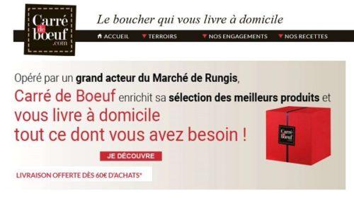 Courses En Ligne De Viandes, Charcuterie, Traiteur, Produits De La Mer, Crèmerie, Fruits Et Légumes.... Direct De Rungis Avec Carré De Bœuf