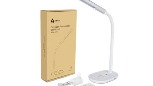 Lampe De Bureau Led Flexible Blanche 7w Aukey Lt T11
