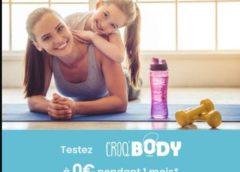 1 Mois Abonnement Gratuit De Coaching De Sport Croq'body By Croq'kilos