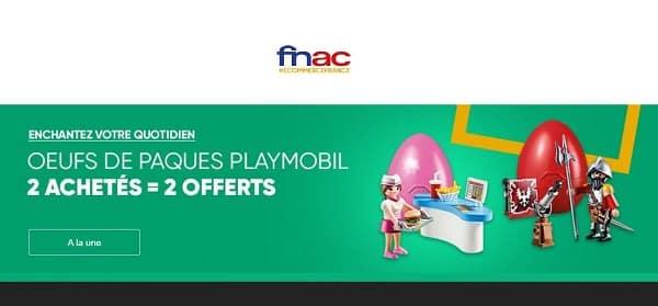 2 œufs De Pâques Playmobil Achetés = 2 œufs De Pâques Playmobil Offerts