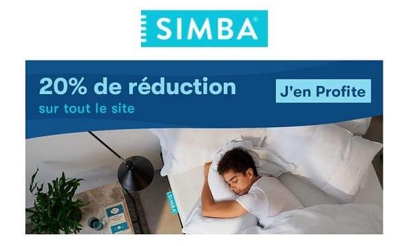20% De Remise Sur Tout Le Site Simba