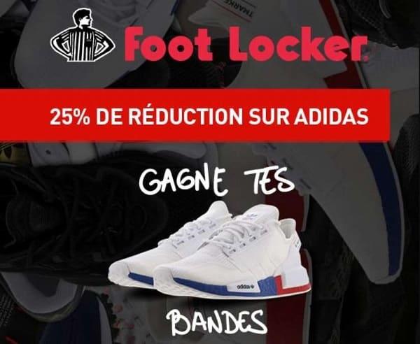 25% De Remise Sur Tous Les Articles Adidas Sur Foot Locker