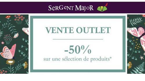 50% De Remise Sur Tout Outlet Sergent Major