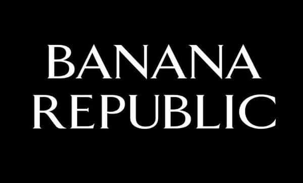 50% De Remise Sur Tout Le Site Banana Republic