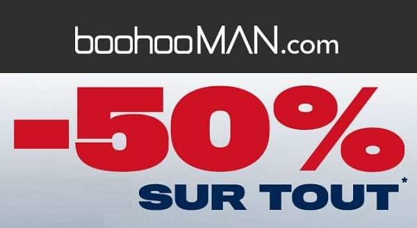 50% De Remise Sur Tout Le Site Boohooman