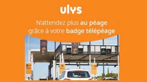 Abonnement Télépéage Ulys Temps Libre Offert Jusqu'à La Fin De L'année