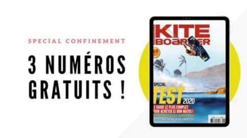 Accéder Gratuitement Aux 3 Derniers Numéros Du Magazine Kiteboarder