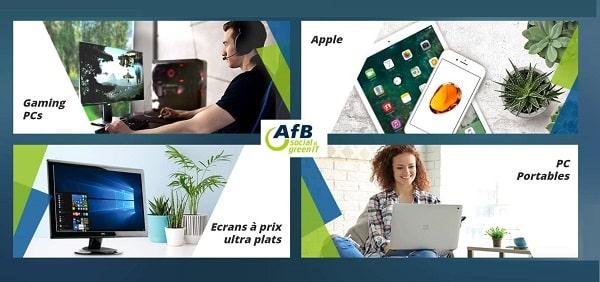 Achetez Sur Afb Shop Votre Matériel Informatique, Smartphone Ou Tablette Reconditionné à Petit Prix