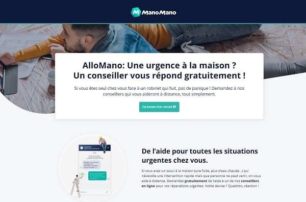 Aide Gratuite En Ligne Par Des Professionnels Sur Les Petits Travaux Avec Allomano De Mano Mano (petits Travaux, Plomberie, Electricité)
