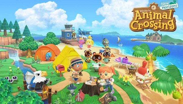 Animal Crossing New Horizons Nintendo Switch Pas Cher Code Activation Nintendo Eshop