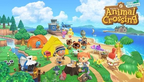 Animal Crossing New Horizons Nintendo Switch Pas Cher Code Activation Nintendo Eshop