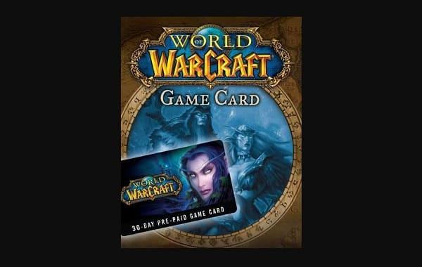 Carte 30 Jours World Of Warcraft Pas Chère