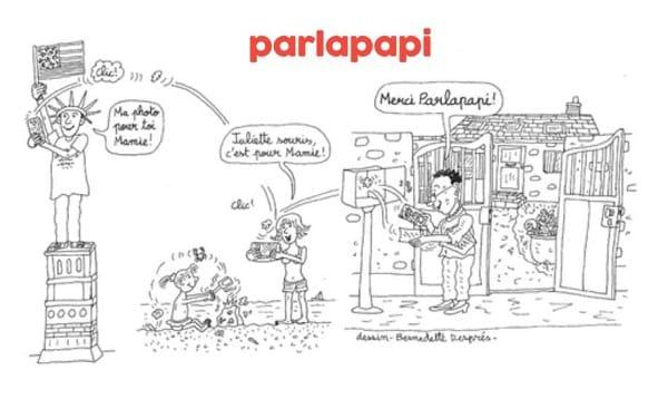 Envoi Gratuit De Photos Et Petits Messages à Un Proche Isolé Par Courrier Avec Parlapapi
