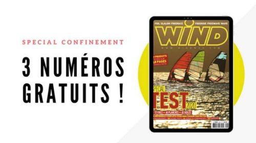 Les 3 Derniers Magazines Wind Gratuits Dans L'application