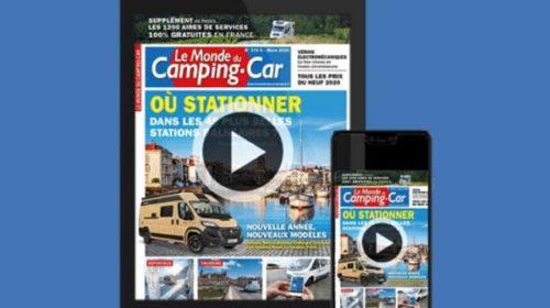 Lire Gratuitement Un Numéro Du Magazine Le Monde Du Camping Car