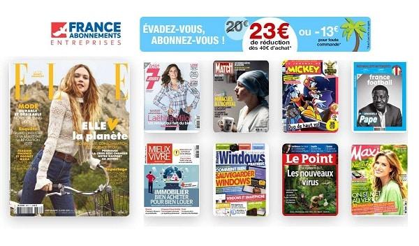 Pour Avoir De La Lecture 23€ De Rabais Sur Les Abonnements Magazine
