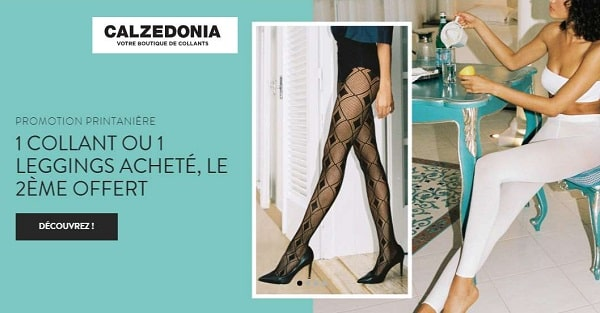 Promo Leggings Et Collants Calzedonia 1 Acheté = Le Second Offert