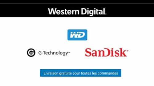 Promotions Et Livraison Gratuite Sur Western Digital Store Wd, Sandisk Et G Technology