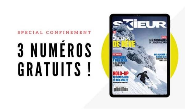 Skieur Magazine En édition Numérique = Les 3 Derniers Numéros Offerts Pour Le Confinement