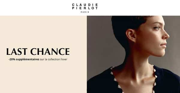 Vente Outlet Last Chance Claudie Pierlot