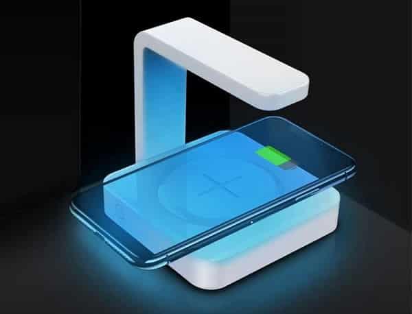 Chargeur Désinfecteur 2 En 1 Pour Smartphone