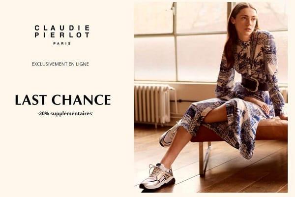 Ente Outlet Last Chance Claudie Pierlot Jusqu'à 50% + 20% Supplémentaire