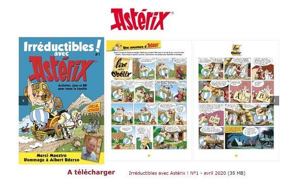 Magazine Irréductibles Avec Astérix à Télécharger Gratuitement