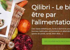 Jusqu'à 40% de remise sur le programme Qilibri avec repas diététique livrés à domicile