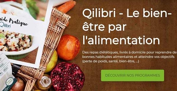 Remise Sur Le Programme Qilibri Avec Repas Diététique Livrés à Domicile